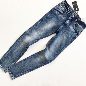 Guess NWT blue stone wash skinny jeans 10Y